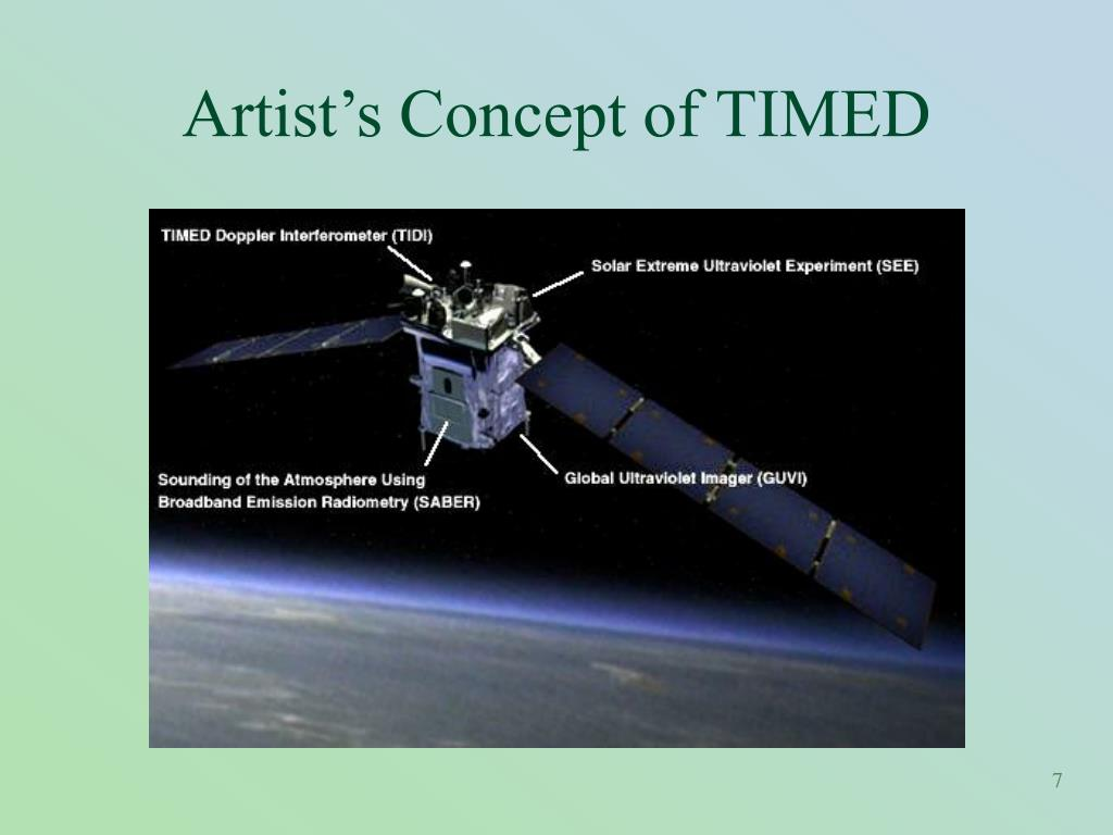 Artist's Concept of TIMED