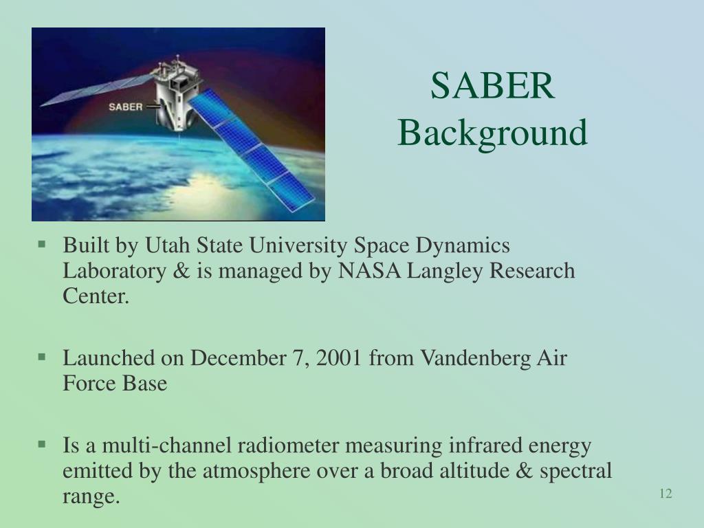 SABER Background