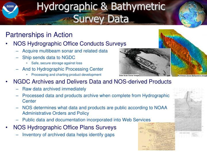 Hydrographic & Bathymetric Survey Data