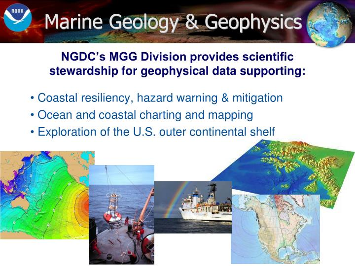 Marine Geology & Geophysics