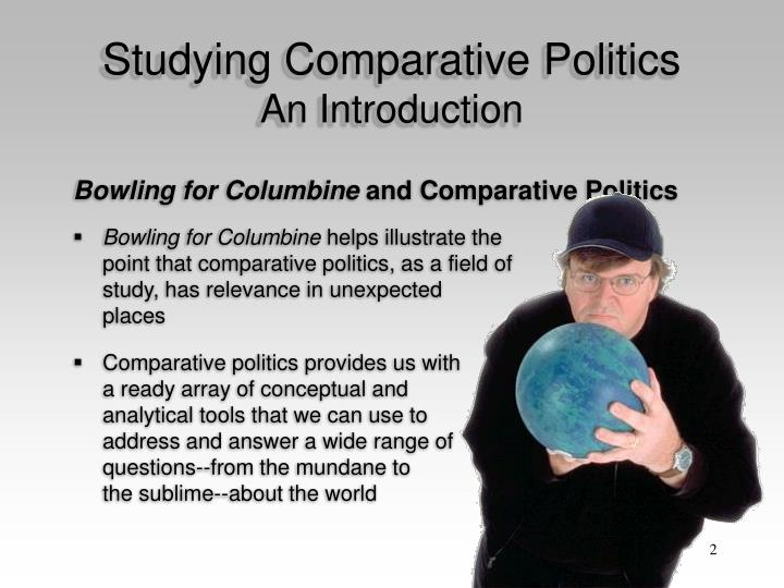 Studying comparative politics an introduction