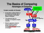 the basics of comparing advantages of comparing26