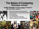 the basics of comparing why compare to control14