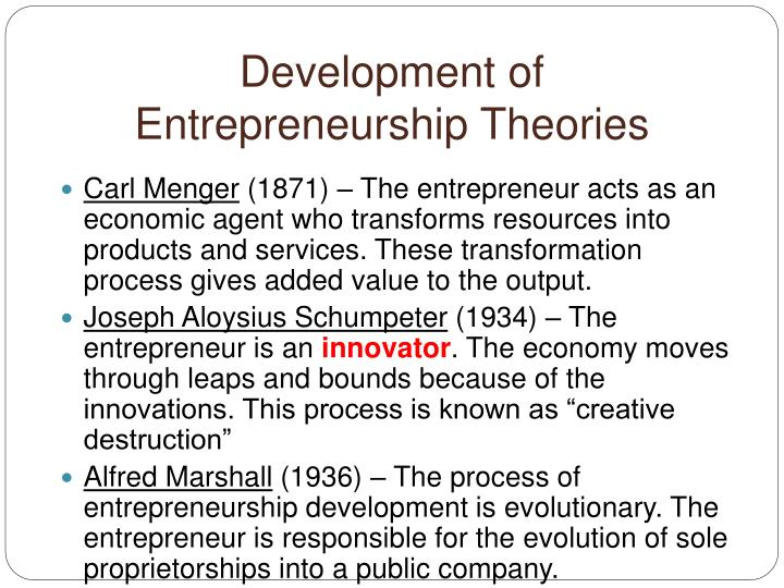 the evolutionary development of entrepreneurship Entrepreneurial ecosystems (ee) consist of interacting components, which foster new firm formation and associated regional entrepreneurial activities current work on ee, however, focuses on documenting the presence of system components, which means there is little understanding of interdependencies between ee components and their.