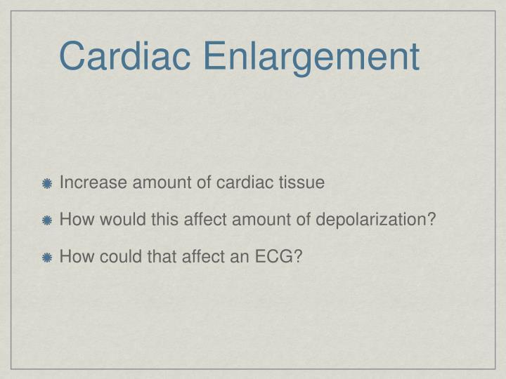 Cardiac enlargement3