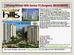umang winter hills sector 77 gurgaon 9810186936