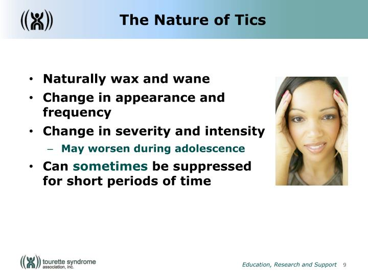 The Nature of Tics