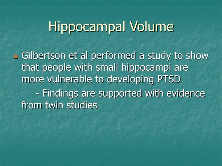 Hippocampal Volume