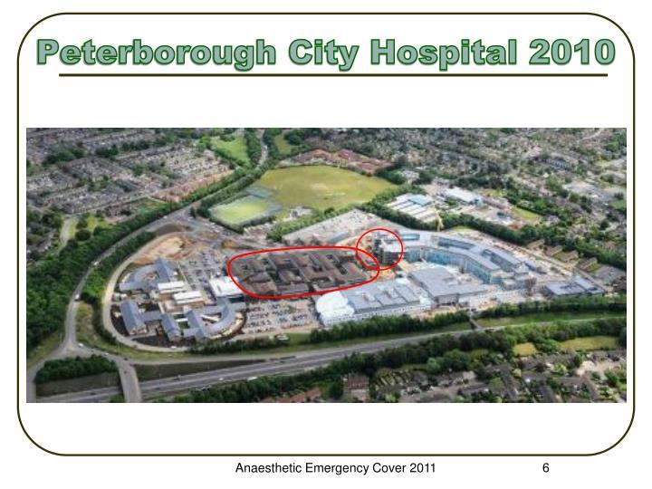 Peterborough City Hospital 2010
