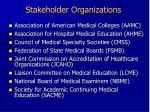 stakeholder organizations7