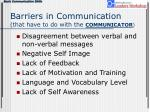 barriers in communication that have to do with the communicator9