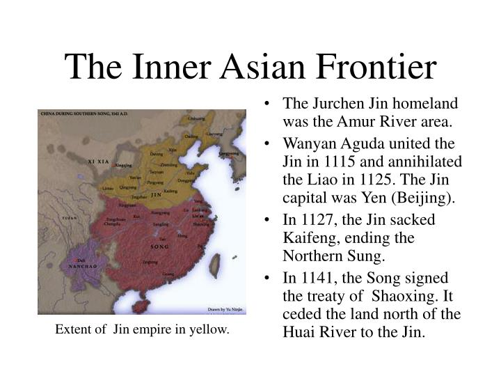 The Inner Asian Frontier