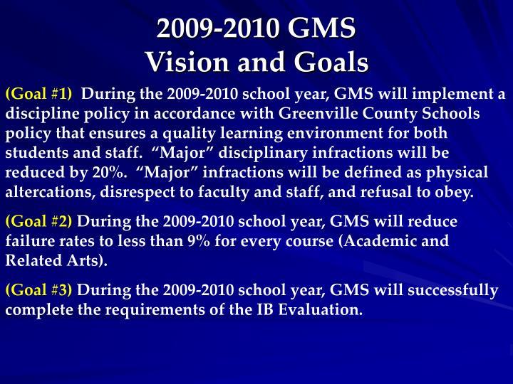 2009-2010 GMS