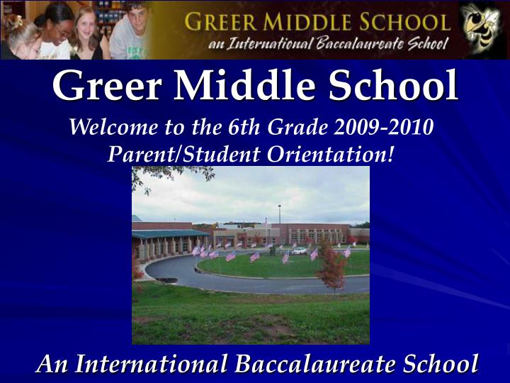 greer middle school n.
