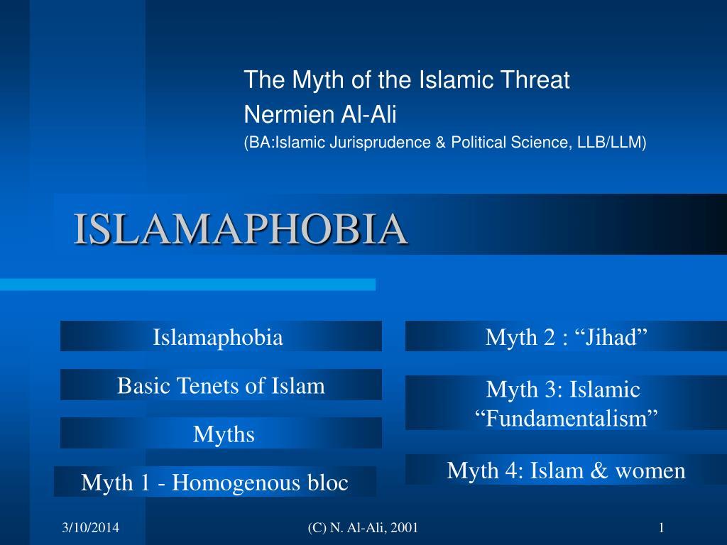 islamaphobia l.