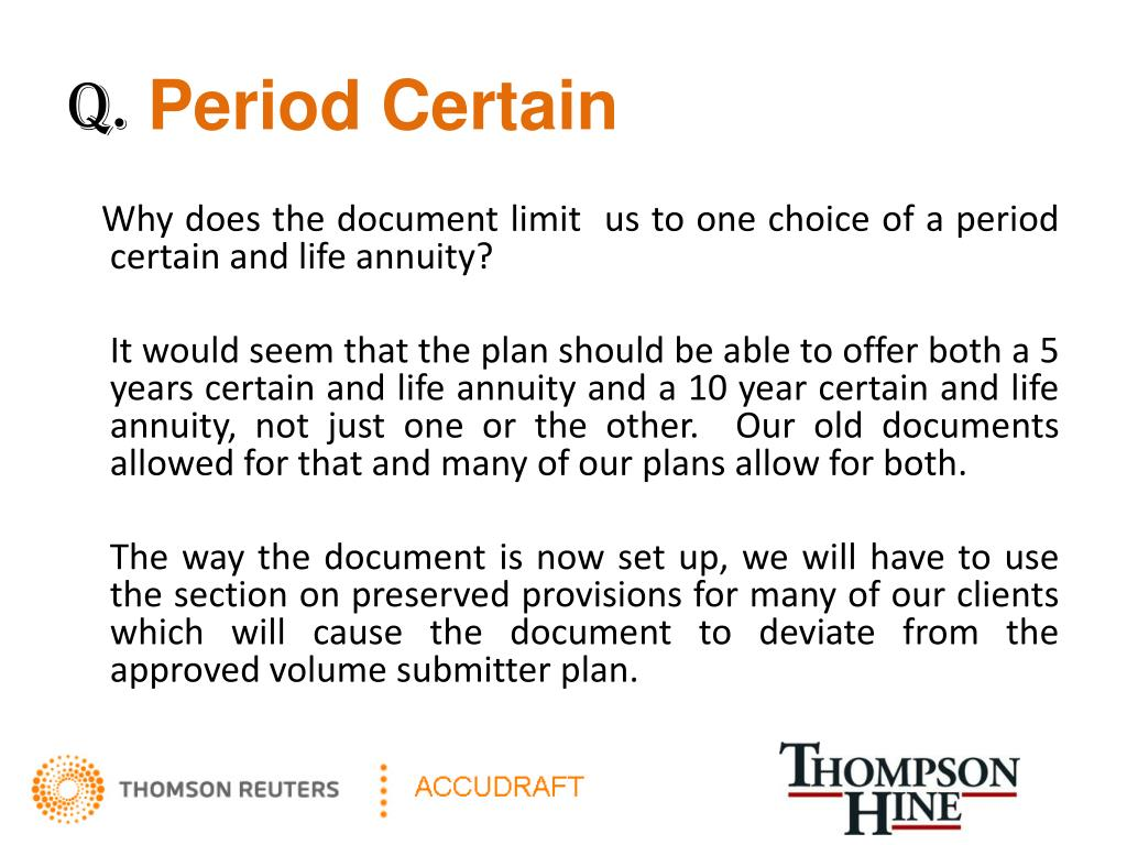 Ppt Pre Approved Defined Benefit Plan Powerpoint