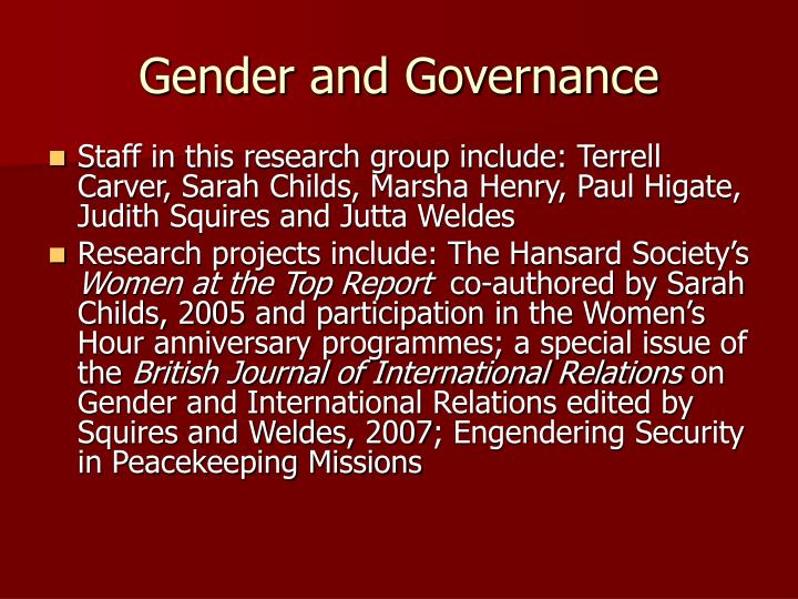 gender relations notes Explore the latest articles, projects, and questions and answers in gender relations, and find gender relations experts all research related to gender relations.