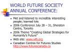 world future society annual conference25