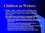 children as writers10