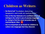 children as writers2