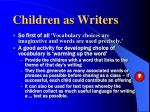 children as writers3