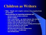 children as writers5