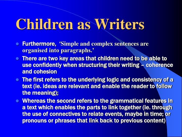 Children as Writers