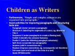 children as writers8