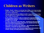 children as writers9