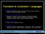 translation localization languages