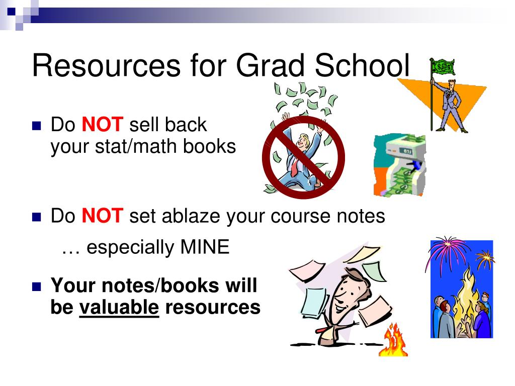 Resources for Grad School