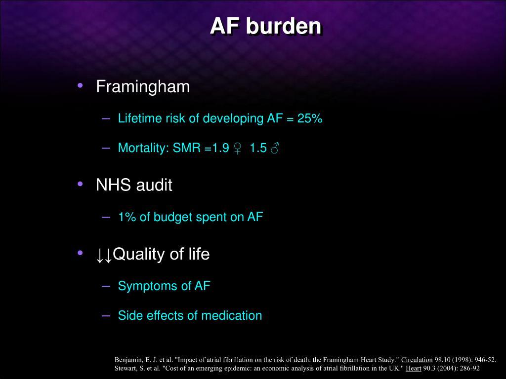 AF burden