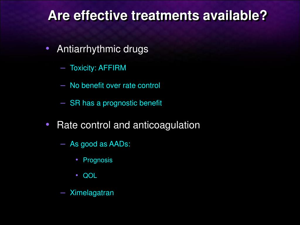 Are effective treatments available?