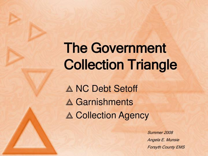 the government collection triangle n.