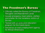 the freedmen s bureau