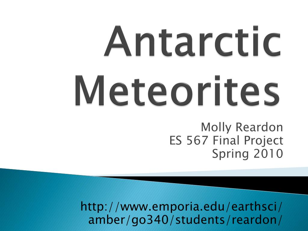 antarctic meteorites l.