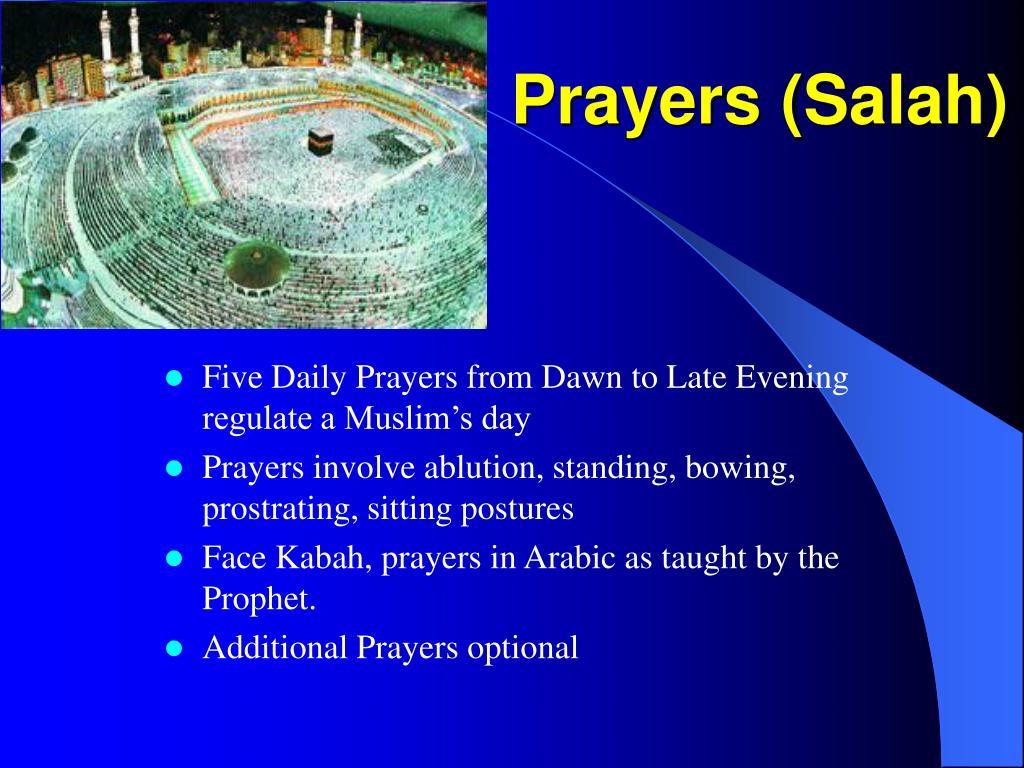 Prayers (Salah)