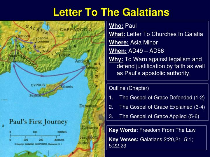 Letter to the galatians