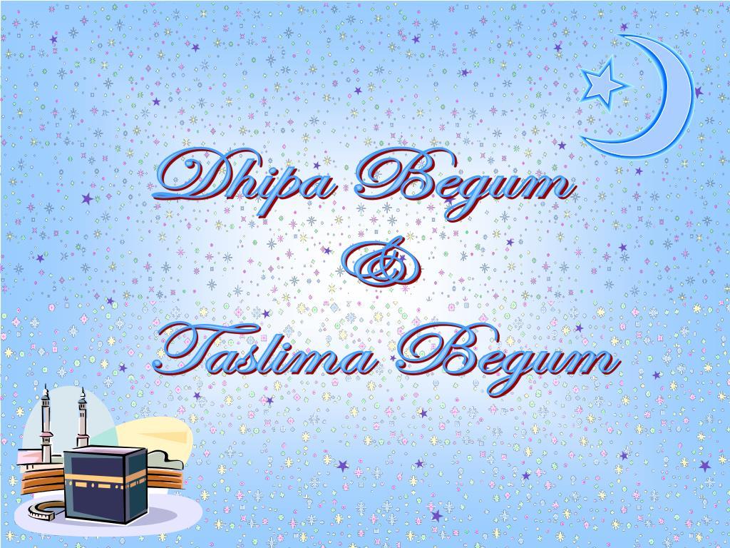 Dhipa Begum