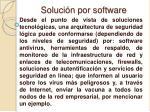 soluci n por software