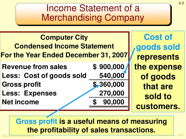 income statement of a merchandising company different from that of a service company Manufacturing companies have several different accounts compared to service and merchandising companies the income statement for a manufacturing company is.