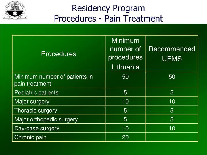 Residency Program