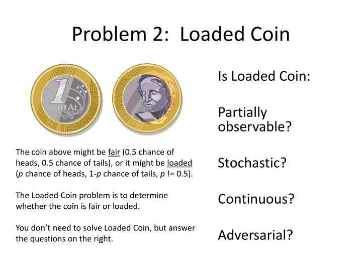 Problem 2 loaded coin