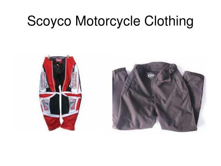 Scoyco motorcycle clothing2