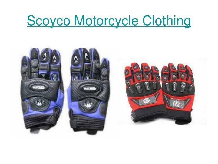 Scoyco motorcycle clothing3