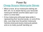 power by cheap scoyco motorcycle gloves