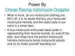 power by cheap racing motorcycle goggles