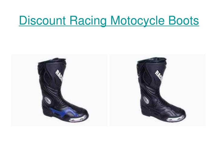 Discount racing motocycle boots3