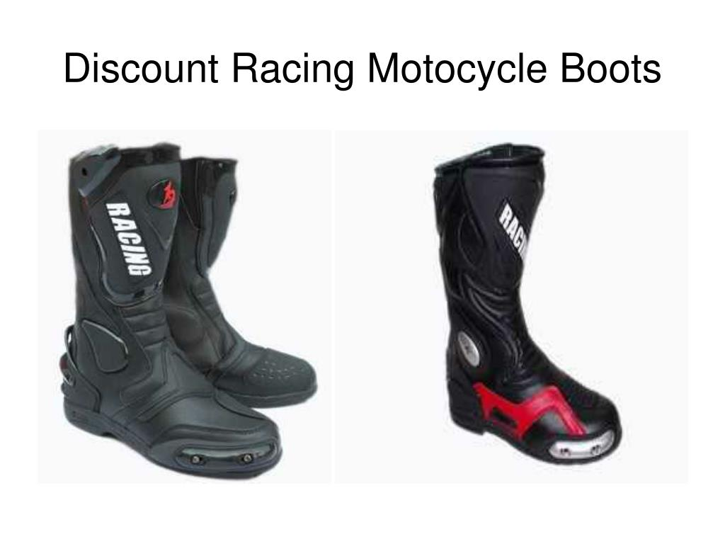 Discount Racing Motocycle Boots