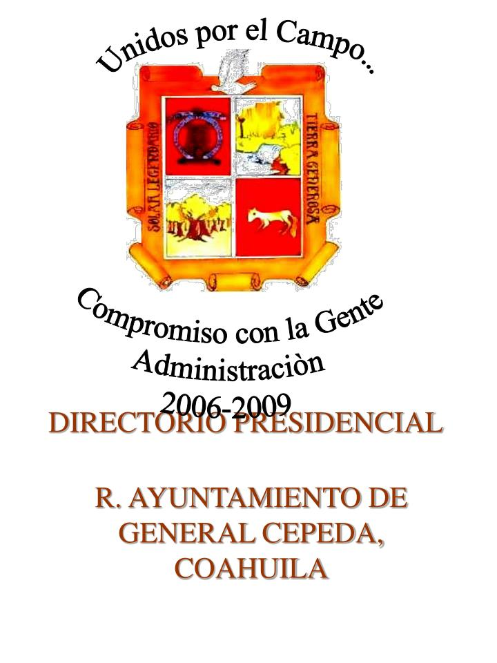 Directorio presidencial